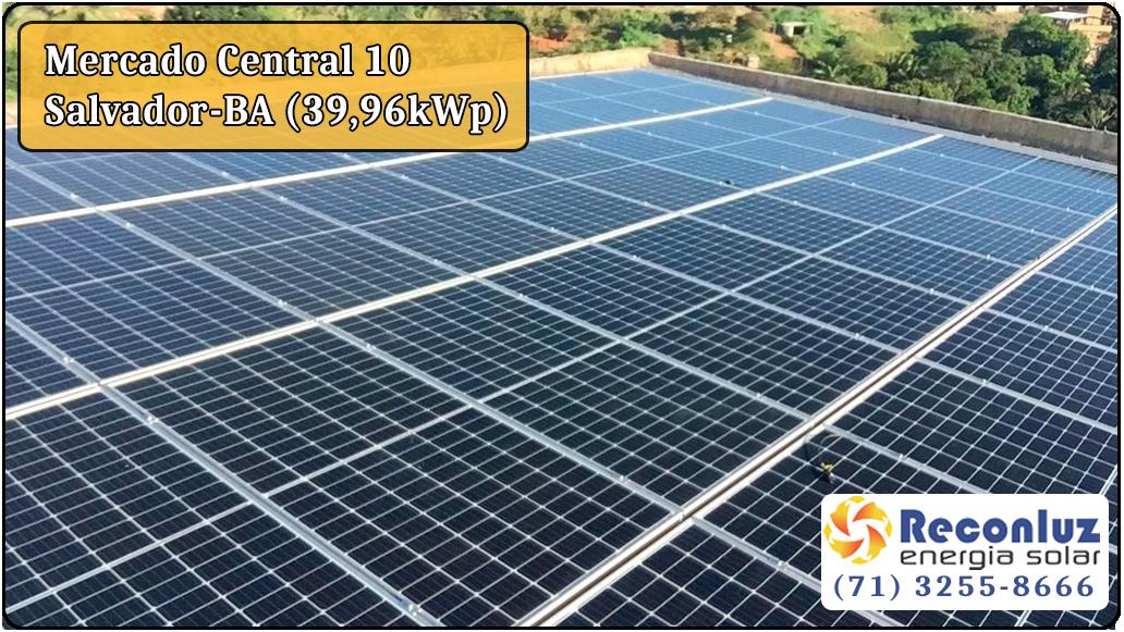 Energia Solar Salvador Bahia - Reconluz - Mercado Central 10