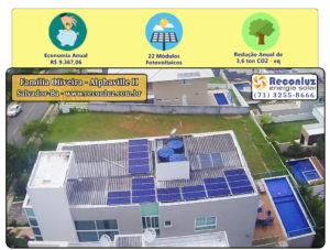 Energia Solar Salvador Bahia - Reconluz - Família Oliveira