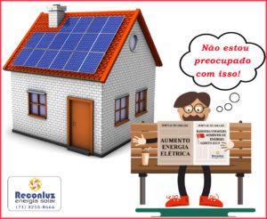 Novo Aumento de Energia - Energia Solar Salvador Bahia - Reconluz