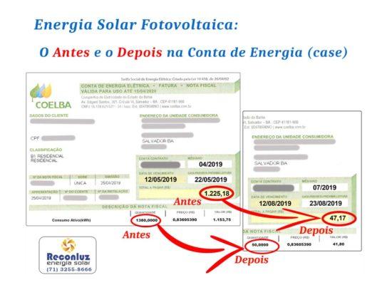 Case Energia Solar Fotovoltaica - Reconluz Energia Solar Salvador Bahia