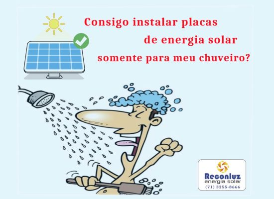 Energia Solar Salvador Bahia - Reconluz